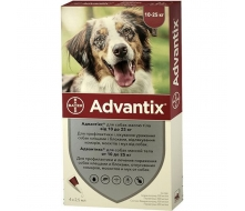 Advantix (Адвантикс) для собак весом 10-25 кг