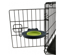 Dexas Collapsible Kennel Bowl миска складная для клеток (240 мл)