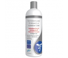 Veterinary Formula Clinical Care Antiseborrheic and Antidandruff Medicated Shampoo шампунь для собак и кошек