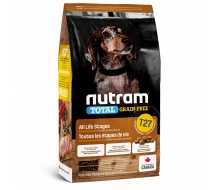 Nutram (Нутрам) T27 Total Grain-Free Turkey & Chicken Small Breed Dog Food беззерновой корм для мелких собак