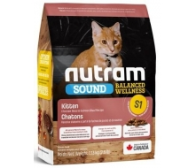 Nutram (Нутрам) S1 Sound Balanced Wellness Natural Kitten Food  корм для котят