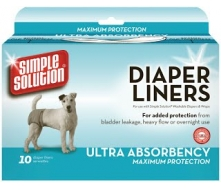 Simple Solution Disposable Diaper Liner Heavy Flow Ultra  гигиенические прокладки