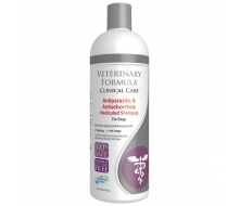 Veterinary Formula Clinical Care Antiparasitic & Antiseborrheic Medicated Shampoo шампунь для собак