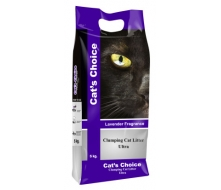 Indian Cat Litter Cat's Choice Lavender с ароматом лаванды