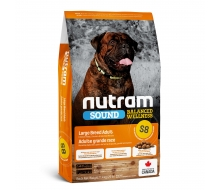 Nutram (Нутрам) S8 Sound Balanced Wellness Large Breed Adult Dog Food корм для крупных собак