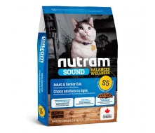 Nutram (Нутрам) S5 Sound Balanced Wellness Natural Adult/Urinary Cat Food корм для взрослых котов