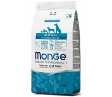 Monge (Монж) All Breed Adult Hypoallergenic корм с лососем