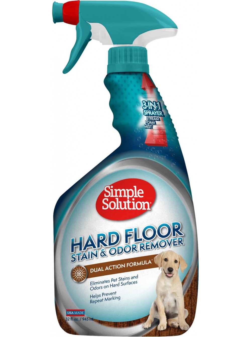 Simple Solution Hardfloors Stain And Odor Remover нейтрализатор запахов